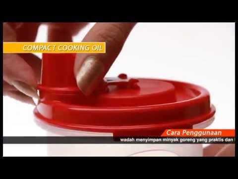AC Tupperware   Compact Cooking Oil