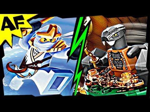 Vidéo LEGO Ninjago 9554 : Zane ZX