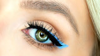 Double Winged Eyeliner Tutorial | Spring Makeup Pop of Color by Leigh Ann Says