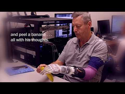 University of Utah, Luke arm, prothesis, feel, brain