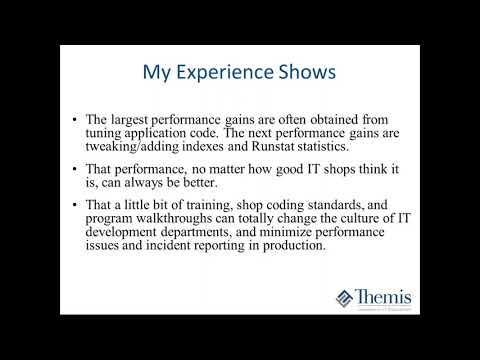Db2 Top Reasons for Poor SQL, Program, and Application Performance