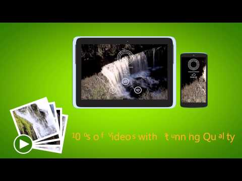 Video of Waterfall Video Live Wallpaper
