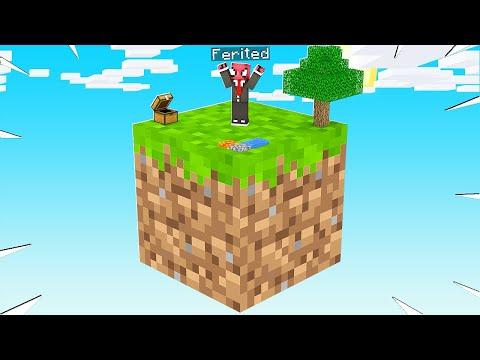 TEK BLOKTA YENİ BİR HAYAT! 😱 - Minecraft