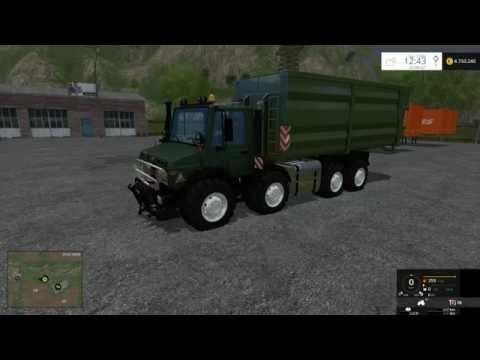MB Unimog 2450 8x8 HKL v1.0