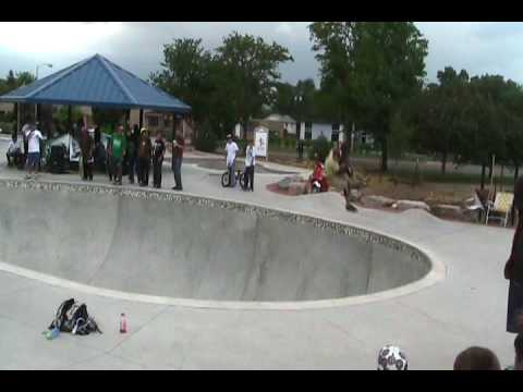 Pro bowl Skate Contest Memorial Park Colorado Springs Combi Pool Skateboarding 6 13 2009