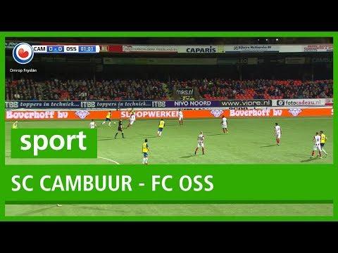 Verslag Omrop Fryslân van SC Cambuur - FC Oss