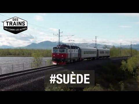 Suède (1/2) - Laponie - Stockholm - Göteborg - Des trains pas comme les autres - Documentaire voyage