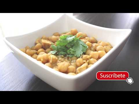 Como Hacer Garbanzos En Slow Cooker - How To Cook Chickpeas In The Slow Cooker.