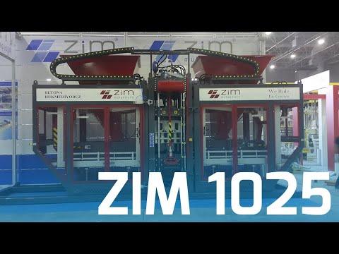 ZIM 1025 - Beton Parke ve Blok Makinası