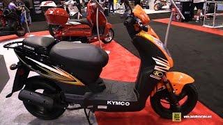 9. 2016 Kymco Agility 50 Scooter - Walkaround - 2015 AIMExpo Orlando