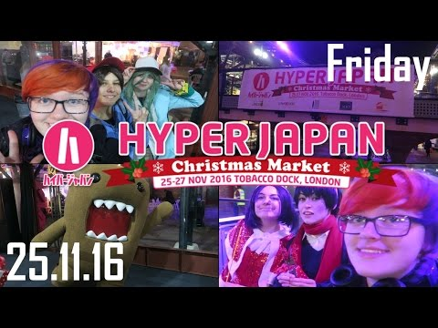Hyper Japan Christmas Market 2016 - Friday