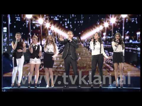 NATYRAL & ARDIT GJEBREA - X FACTOR ALBANIA 2 (nata gjysmefinale) (видео)