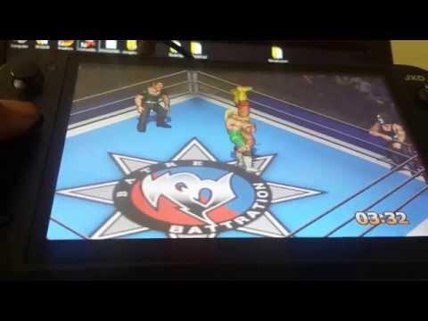Fire Pro Wreslting G Playstation