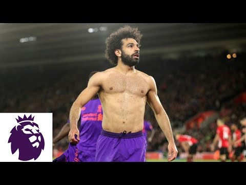 Salah's Beautiful Counterattack Goal For Liverpool V. Southampton | Premier League | NBC Sports