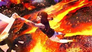 LAVA PARKOUR!! - The Floor Is Lava Challenge 4!