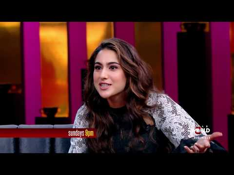 Koffee With Karan: Saif Ali Khan And Sara Ali Khan