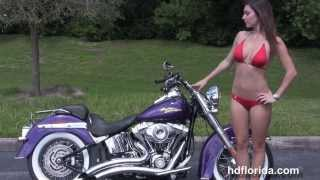 10. 2008 Harley Davidson Softail Deluxe - Used Motorcycles for sale