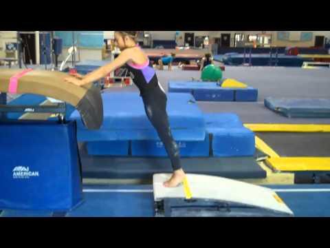 Gymnastics Instruction:  Dive Roll Drills