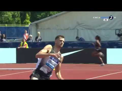 Robert Grabarz 2.29 ( Birmingham Diamond League 2016. High jump men )