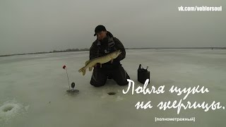 Рыбалка на жерлицы, Щука Рыбалка 2015