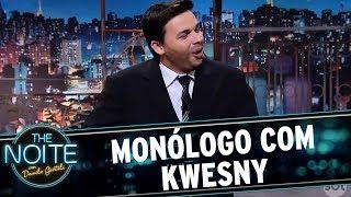 O humorista Kwesny tomou o lugar do nosso apresentador!Veja mais em: www.sbt.com.br/thenoite/Inscreva-se no canal do The Noite: www.youtube.com/sbtthenoiteCurta a página do programa no Facebook:www.facebook.com/SBTTheNoiteSiga o perfil oficial do programa no Twitter:twitter.com/SBTTheNoite