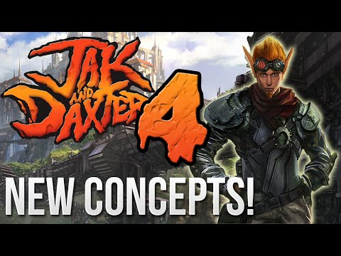 Jak and Daxter 4 - New Art/Concepts Have Surfaced! (видео)