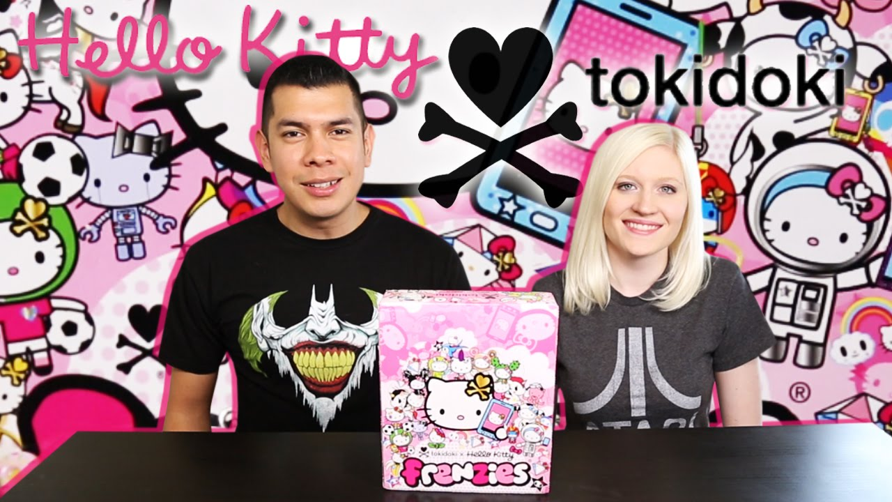 Tokidoki Hello Kitty Frenzies Full Case Opening – Part 1