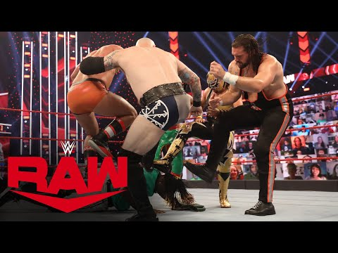 "R-Truth escapes wild 7-Way 24/7 Title Match with his ""baby"": Raw, Nov. 9, 2020"