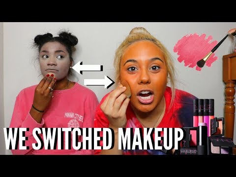 ME AND MY BEST FRIEND SWITCH MAKEUP!!!
