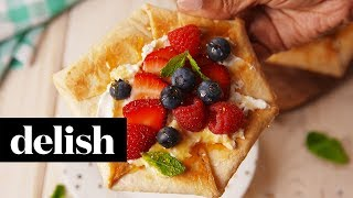 If you're only using tortillas for savory eats, you're missing out. This buttery dessert requires zero baking skills and—even better—can be made in a toaster oven, like the Krups toaster oven we used here.SUBSCRIBE to delish: http://bit.ly/SUBSCRIBEtoDELISHFOLLOW for more #DELISH!Facebook: https://www.facebook.com/delish/Twitter: https://twitter.com/DelishDotComInstagram: https://www.instagram.com/delish/Pinterest: https://www.pinterest.com/source/delish.com/Google+: https://plus.google.com/+delish/posts