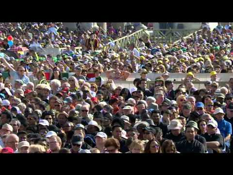 1er octobre : Audience avec le Pape François
