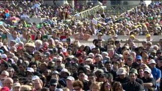 1 oktober: audiëntie bij paus Franciscus