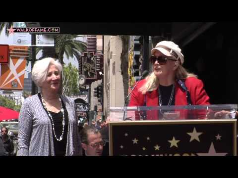 Olympia Dukakis Walk of Fame Ceremony