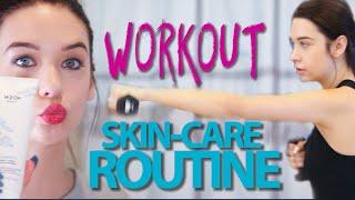 My Gym Workout + Skincare Routine!❤️ by Amanda Steele