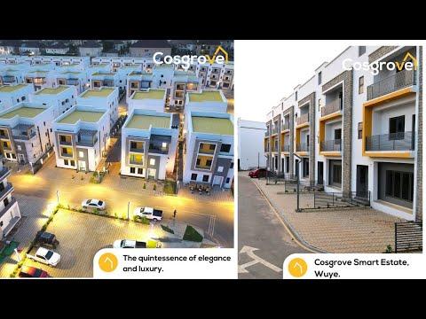 Inside Smart Estate by Cosgrove in Wuye Abuja | Real Estate Companies in Nigeria | Ownahomeng TV