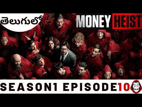 Money Heist Telugu  Season1 Episode10 Money Heist Explained in Telugu  LaCasa De Papel Spanish Drama
