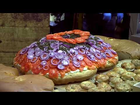 Inside Edition: Tremble Before the Worlds Largest Lox and Bagel Sandwich