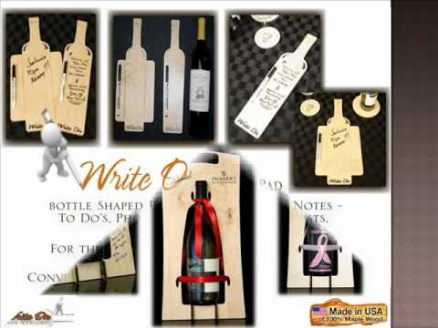 New, Innovative Products for Winery Tasting Rooms