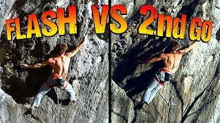 A Messed Up Flash + What I Learned from it ! Rock Climbing Science by Mani the Monkey