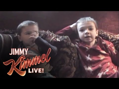 CHALLENGE - Jimmy Kimmel Live - YouTube Challenge - I Told My Kids I Ate All Their Halloween Candy.
