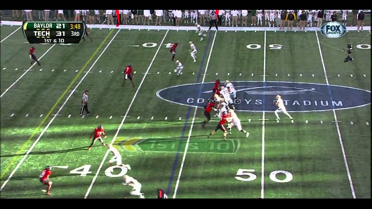 Terrance Williams vs Texas Tech (2012)