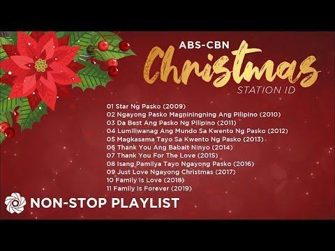 ABS-CBN Christmas Station ID (2009-2019) |  Non-Stop Christmas Playlist ♪