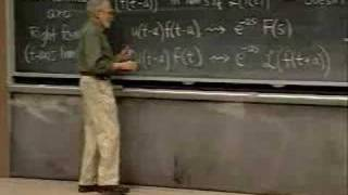 Lec 22 | MIT 18.03 Differential Equations, Spring 2006