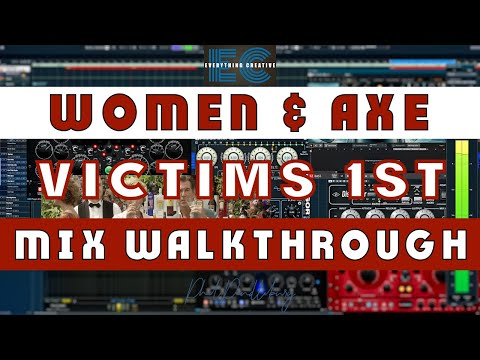 """Walkthrough – """"Women & Axe-victims First"""" by Phil Pendlebury – Spitfire Albion 1 & Cubase 7"""
