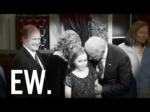 Howie confronts Joe Biden about touching children on CSPAN LIVE at LIU 0
