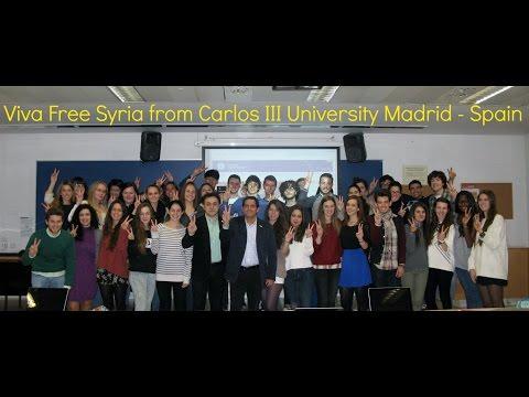 Malek Jandali at Carlos III University Madrid - Spain (видео)