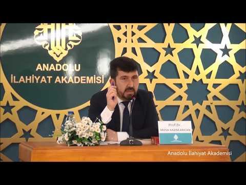 Prof. Dr. Musa Kazım ARICAN ile ''Nurettin Topçu'' Konulu Seminer