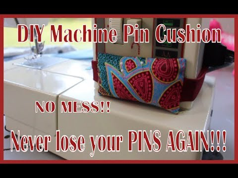 DIY Sewing Machine Pin Cushions