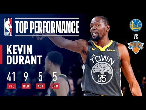 Video: Kevin Durant Drops 41 In The GARDEN | October 26, 2018