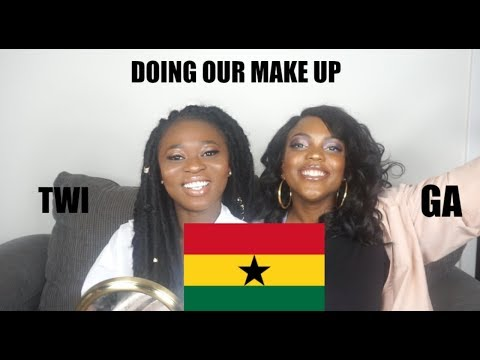 TWI MAKEUP CHALLENGE: DOING OUR MAKEUP IN TWI AND GA!